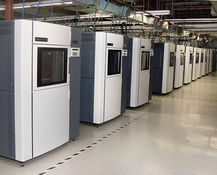 3D printer in Manufacturing line