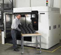 Fortus 900MC part production run