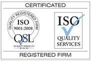 Our Service Team achieve ISO 9001:2008 Management Standard