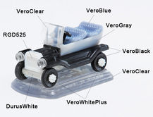 Multi-Material 3D Print objet30