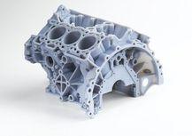 polyjet 3d printed engine block