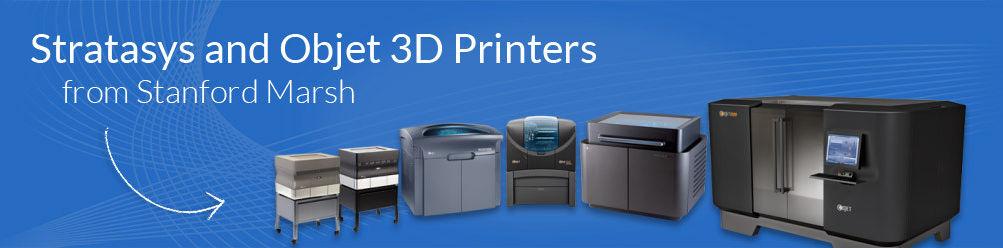 Stratasys & Objet 3D Printers